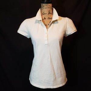 Old Navy Stylish White Polo